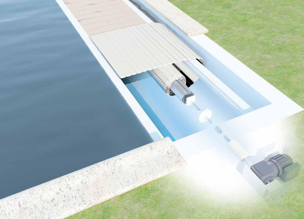 VOLETS DE SECURITE IMMERGE PISCINE