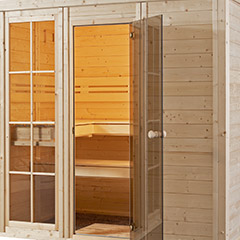 Les saunas