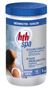 Chlore pastilles effervescentes spa 1Kg hth