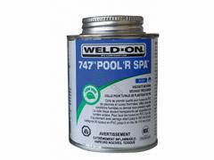 Colle bleue 118 ml à solvant pvc